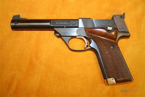 High Standard Supermatic Citation 22 Long Rifle Semi-automatic Pistol