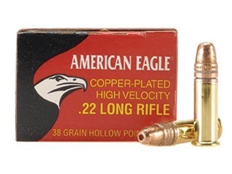 High Velocity 22 Long Rifle Ammunition