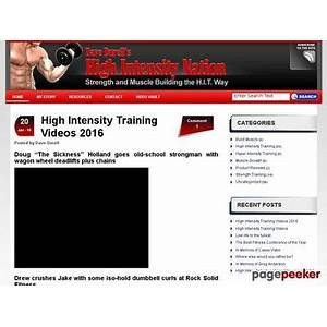 High intensity muscle building high intensity nation the go to place on the internet for high intensity training does it work?