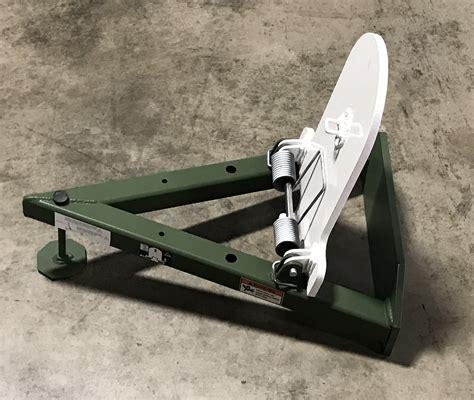 Hill Mac Gunworks Steel Rifle Target System Tombstone