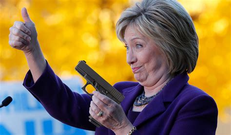 Hillary Clinton Handguns