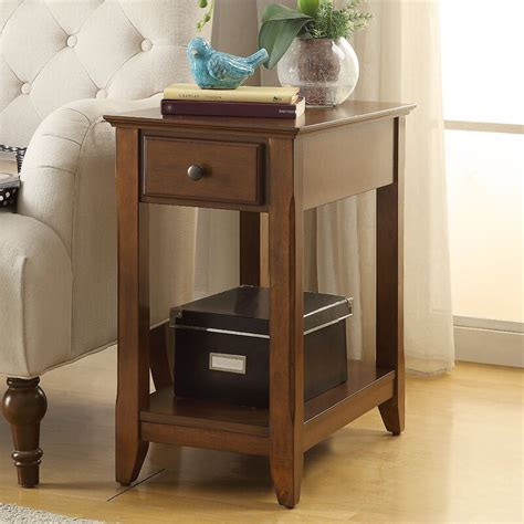 Hillyard End Table With Storage