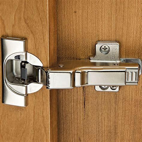 Hinges for frameless cabinets Image