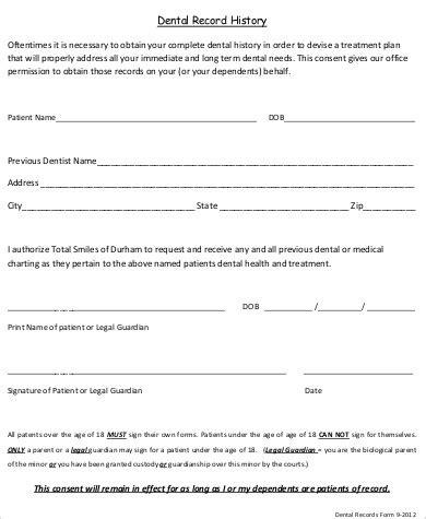 Hipaa Dental Records Release Form CV Templates Download Free CV Templates [optimizareseo.online]