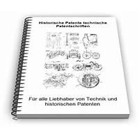 Buying historische patente technische patentschriften