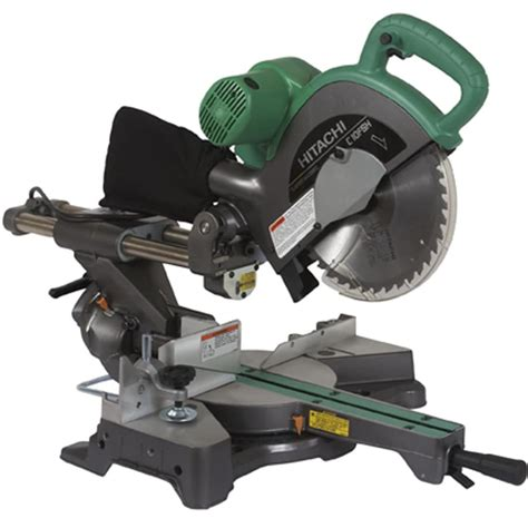 hitachi 10 sliding compound miter saw pdf manual