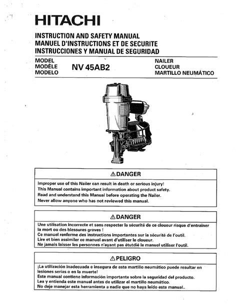 hitachi 55 pdf manual