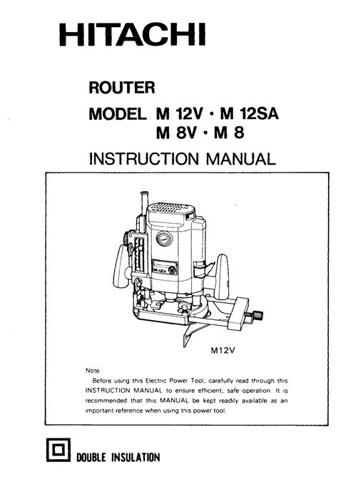 hitachi m12v manual pdf manual