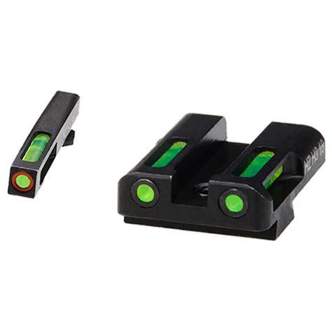 HiViz Glock Interchangeable Tritium Litepipe Front Sight