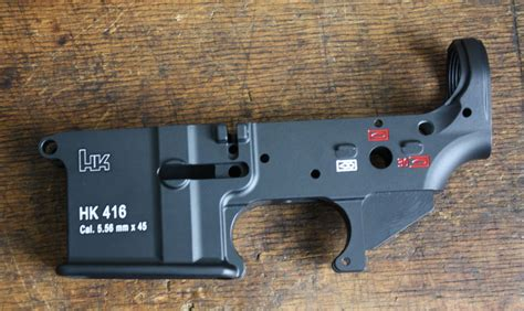 Hk 416 Lower Difference Ar 15