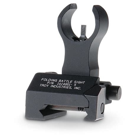 Hk Folding Sight Blk Troy Industries And Muzzle Brakes For 300 Win Mag Long Range Hunting Forum