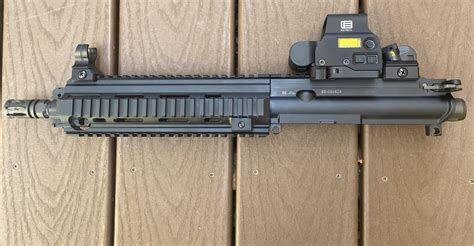 Hk416 10 Inch Barrel With Eotech
