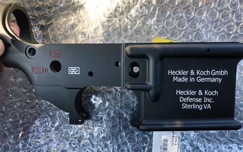 Hk416 Lower Engraving