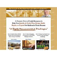 What is the best ho oo model trains & railroads ebook and bonuses?