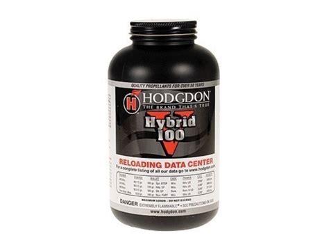 Hodgdon Hybrid 100V Powder - Shooters Forum