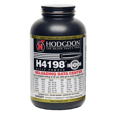 Hodgdon Powder H4198 Hodgdon Powder Co Inc