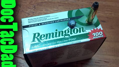 Hog S Head Ballistics Remington Umc 125gr 357 Magnumn