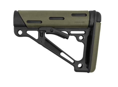 Hogue Ar15 Overmolded Buttstock Collapsible Commercial Rubber Ar15 Overmolded Buttstock Collapsible Comm Fde Rubber