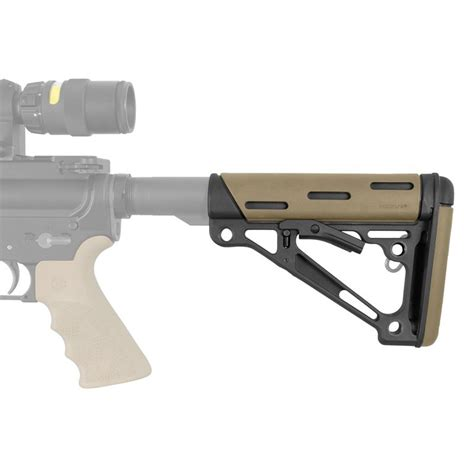 Hogue Rubber Overmolded Collapsible Buttstock Fde
