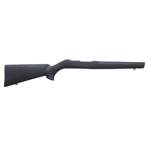 Hogue Ruger 1022 Rubber Covered Stock 920 Bull Barrel Ruger 1022 Rubber Covered Stock 920 Bull Fiberglass Blk