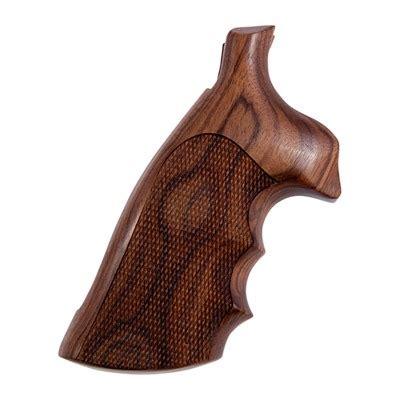 Hogue Wood Monogrips Checkered Pau Ferro Grip Fits Sw Kl Square