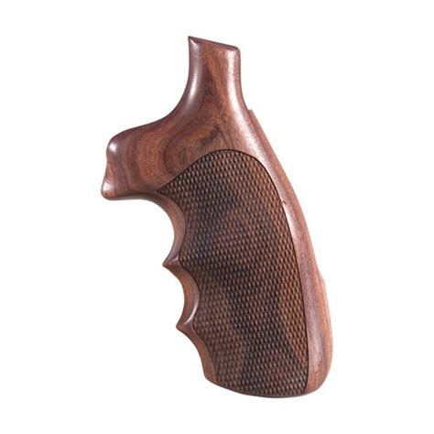 Hogue Wood Monogrips Checkered Pau Ferro Grip Fits Sw N Square