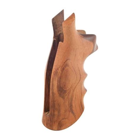 Hogue Wood Monogrips Smooth Goncalo Alves Grip Fits Sw N Square