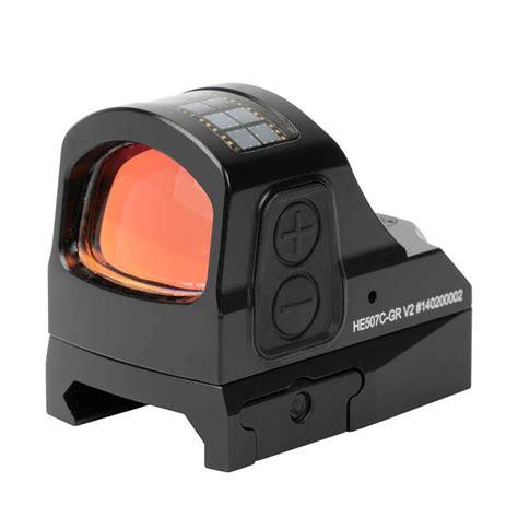 Holosun Hs507c Version 2 Reflex Sights Hs507cv2 2 Moa Green Circle Dot Sight