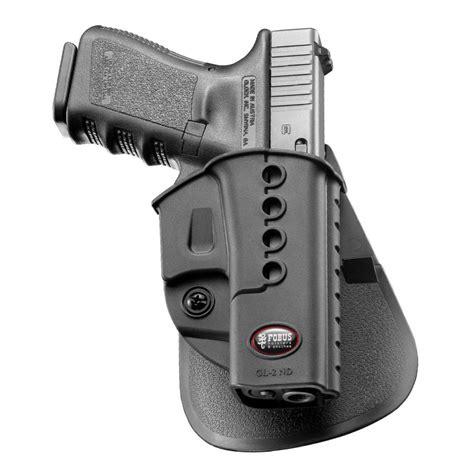 Holstered Glock 19