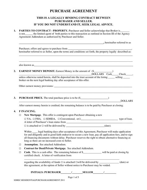 Home Sale Contract Template CV Templates Download Free CV Templates [optimizareseo.online]