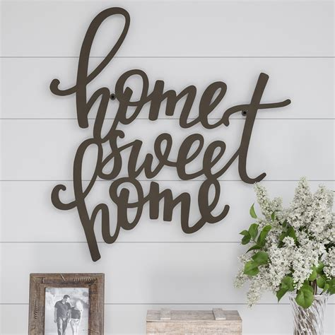 Home Sweet Home Wall Decor Home Decorators Catalog Best Ideas of Home Decor and Design [homedecoratorscatalog.us]