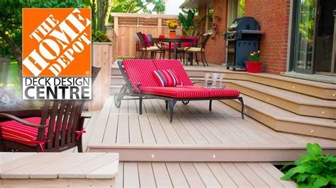Home depot deck plans Image