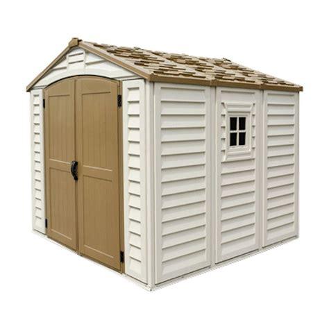 Home depot vinyl storage sheds Image