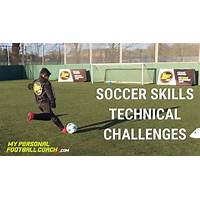 What is the best home soccer drills technical soccer training done in your home?