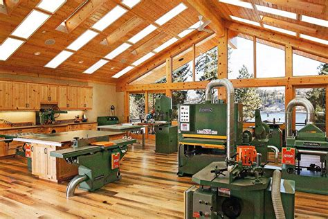 Home woodworking shop Image