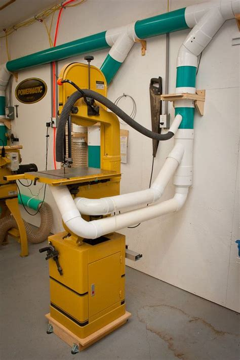 Home workshop dust collection Image