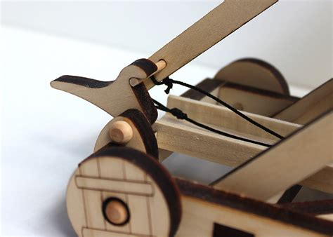 Homemade Catapult With Trigger Mechanism