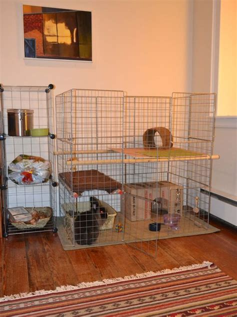 homemade indoor rabbit cages.aspx Image