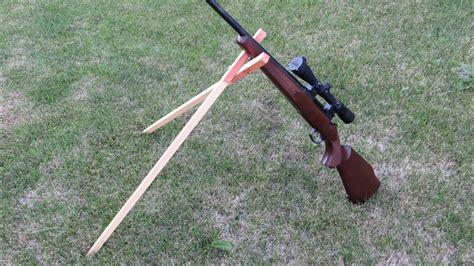 Homemade Rifle Shooting Sticks