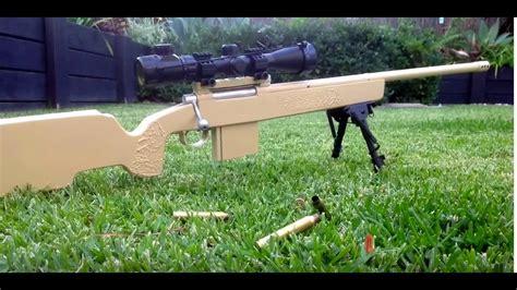 Homemade Wooden Sniper Rifle
