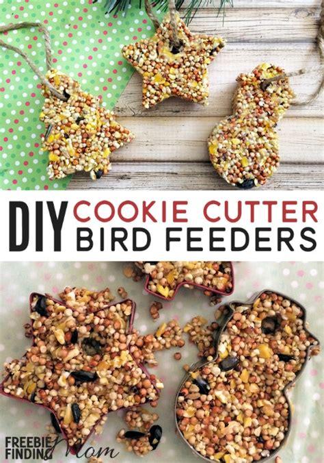 Homemade bird feeders cookie cutters Image