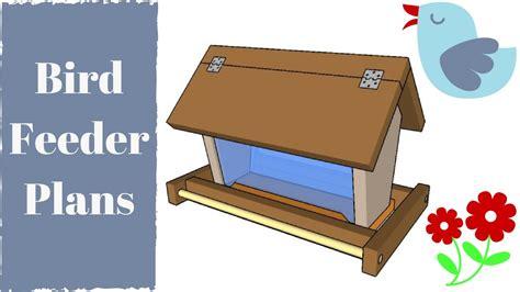 Homemade bird feeders plans Image
