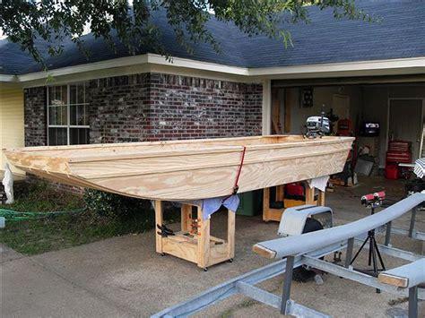 Homemade flat bottom boat plans Image