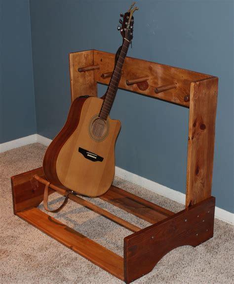 Homemade guitar stand Image
