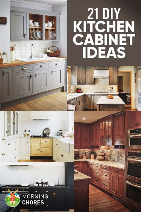 Homemade kitchen cabinet plans Image