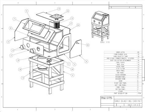 Homemade sandblasting cabinet plans Image