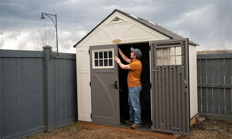 Homemade shed doors Image