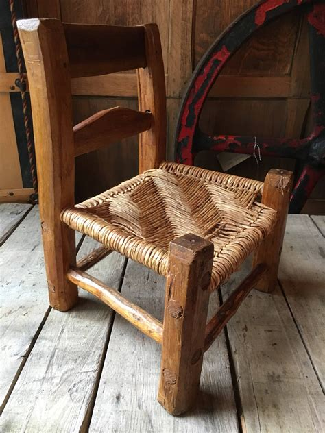 Homemade wooden chairs Image