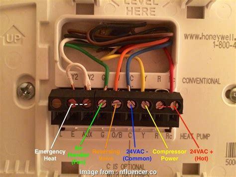honeywell 6 wire thermostat wiring diagram pdf manual