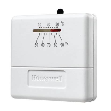 Honeywell Low Voltage Thermostat Instructions